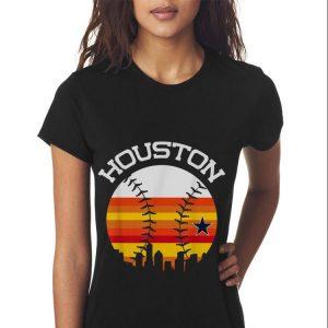 Houston Baseball Throwback Retro Astro Stripe 2018 shirt 2