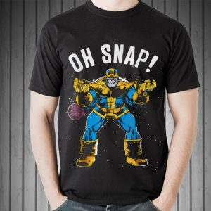 Marvel Thanos Space Oh Snap shirt