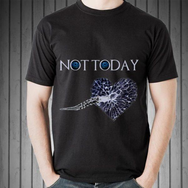 Not Today Catspaw blade Broken heart shirt
