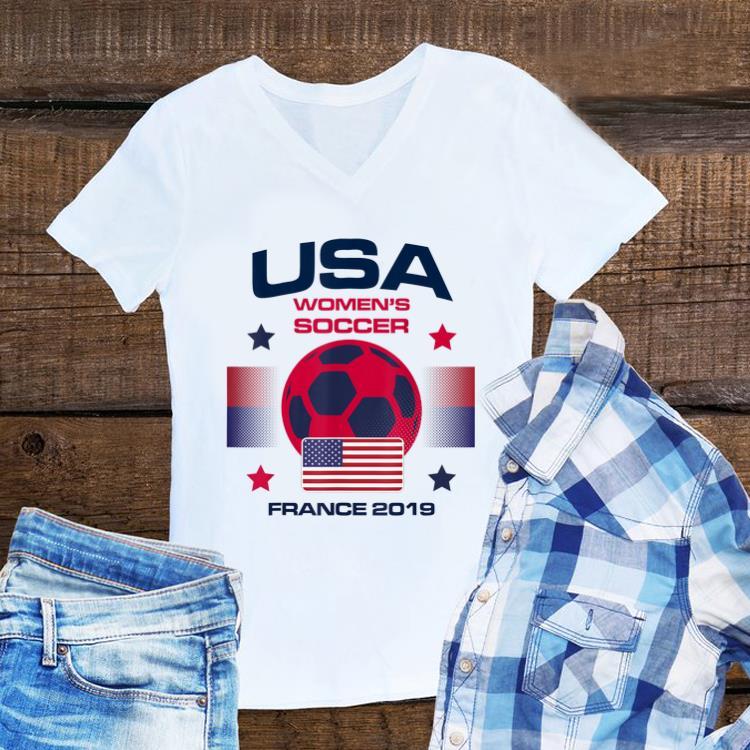 bc2778d1fc0 USA women Soccer Team 2019 France World Championship Cup shirt ...