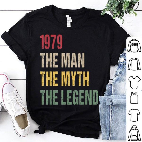 1979 40th Birthday 1979 The Man The Myth The Legend shirt