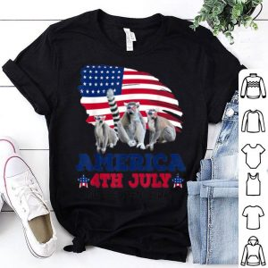 American 4th July Independences Day Lemur shirt