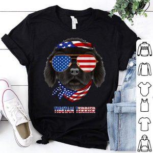 American Flag Tibetan Terrier Dog Lover shirt