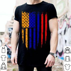 Armenian American Armenia & America Flag