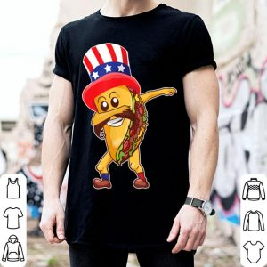 Dabbing Taco 4th Of July American shirt