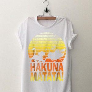 Disney Lion King Simba Hakuna Matata Sunset C1 shirt
