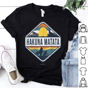 Disney The Lion King Hakuna Matata Diamond Logo shirt