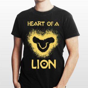 Disney The Lion King Heart Of A Lion Young Simba Logo shirt