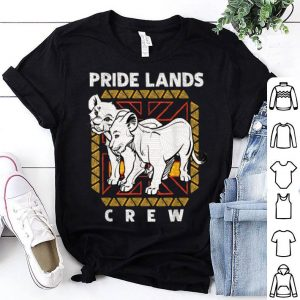Disney The Lion King Live Action Simba Nala Pride Lands Crew shirt