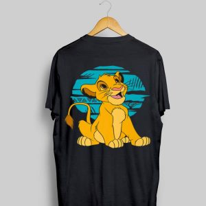 Disney The Lion King Young Simba Happy Retro shirt