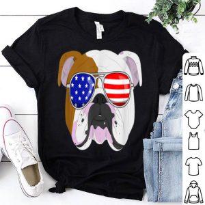 English Bulldog 4th Of July Patriotic dog shirt