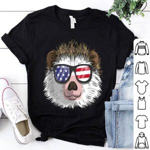 Hedgehog Patriotic Usa 4th Of July American shirt
