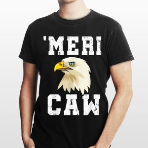 Love Usa Mericaw Merica 4th Of July Bald Eagle shirt