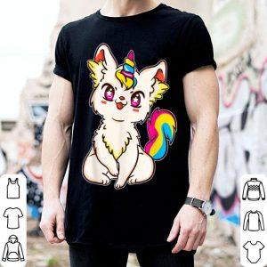 Pansexual Pride Kawaii Anime Caticorn shirt