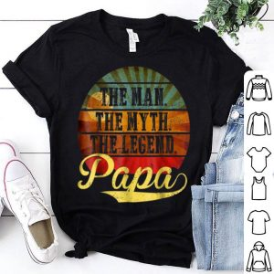 Papa Man Myth Legend Vintage shirt