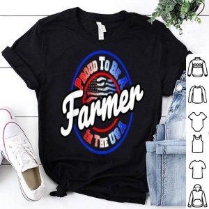 Patriotic American Usa Farmer Worker shirt