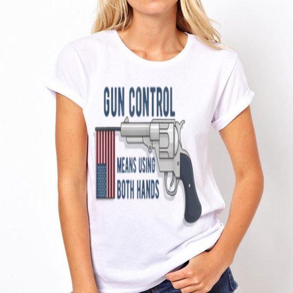 Pro Gun Rights Us Gun Control 2Nd Amendment Trump Support shirt