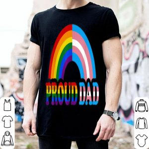 Proud Dad Flag Rainbow Lgbtransgender Pride Month shirt