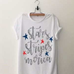 Stars Stripes Merica Patriotic 4th of July for Men Women Kid shirt