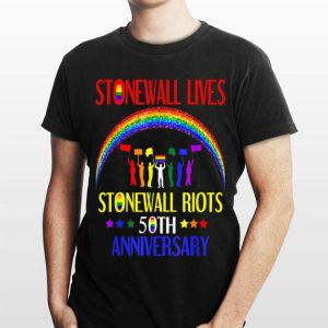 Stonewall Lives Riots 50th Nyc Gay Pride Lbgt shirt