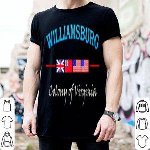 Williamsburg Virginia Colony shirt