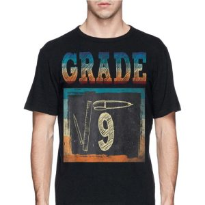 3rd Grade Back To School Square Root Of 9 Math shirt