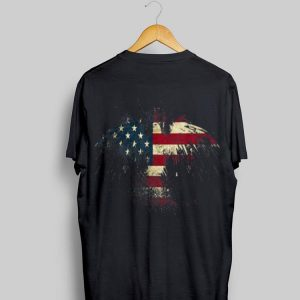 American Eagle Patriot Us Flag With Eagle Gif shirt