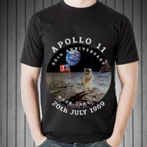 Astronaut Apollo 11 50th Anniversary Moon Landing American Flag 20th July 1969 sweater