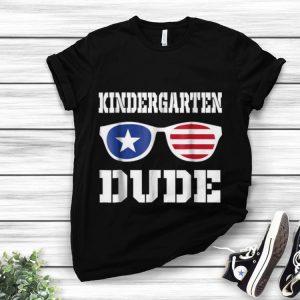 Awesome Kindergarten Dude American Sunglass Back To Shool shirt