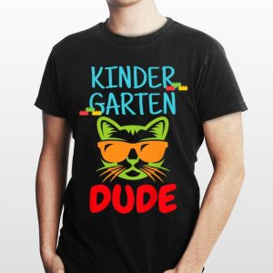 Back to School Kindergarten Dude shirt