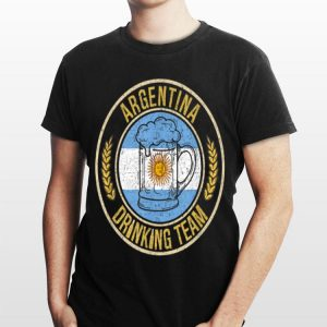 Beer Argentina Drinking Team shirt