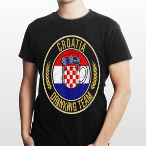 Beer Croatia Drinking Team Casual shirt