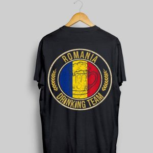 Beer Romania Drinking Team Casual shirt