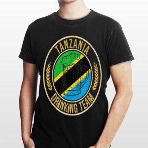 Beer Tanzania Drinking Team Casual shirt