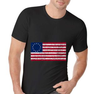 Betsy Ross Flag 4th July Usa Independence hoodie
