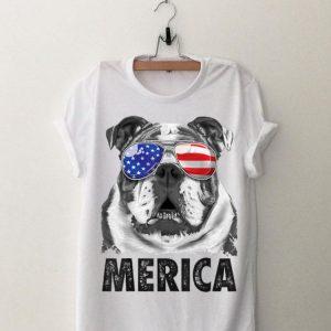 English Bulldog 4Th Of July Merica Men Women American shirt
