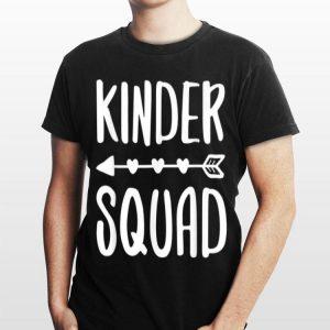 Kinder Squad Back To School shirt