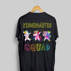 Kindergarten Squad Team Kindergarten Back To School shirt