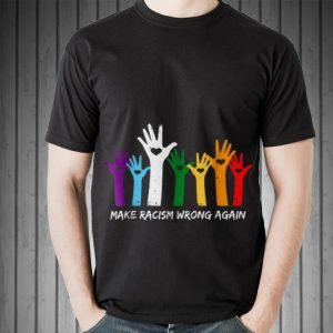 Make Racism Wrong Again LGBT sweater