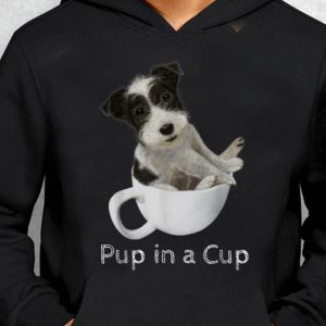 Nice Trend Jack Russell Terrier Puppy In A Cup shirt