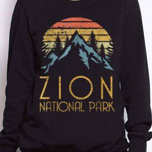 Nice Trend Vintage Retro Zion National Park Utah shirt 2