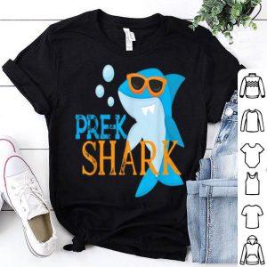 Pre K Shark For Kids Boys Girls shirt
