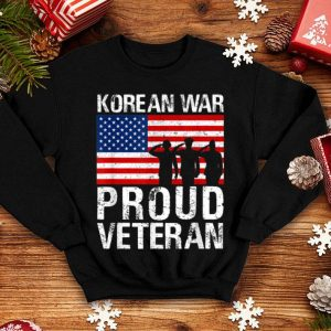 Proud Korean War Veteran For Military Men Women shirt
