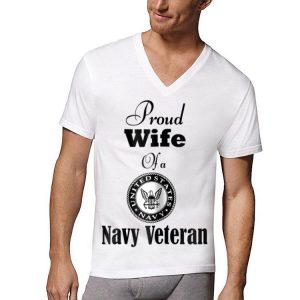 Proud Wife Of A Navy Veteran shirt