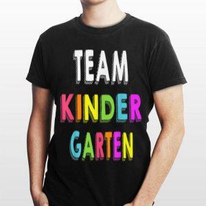 Team Kindergarten Back To School Teachers shirt