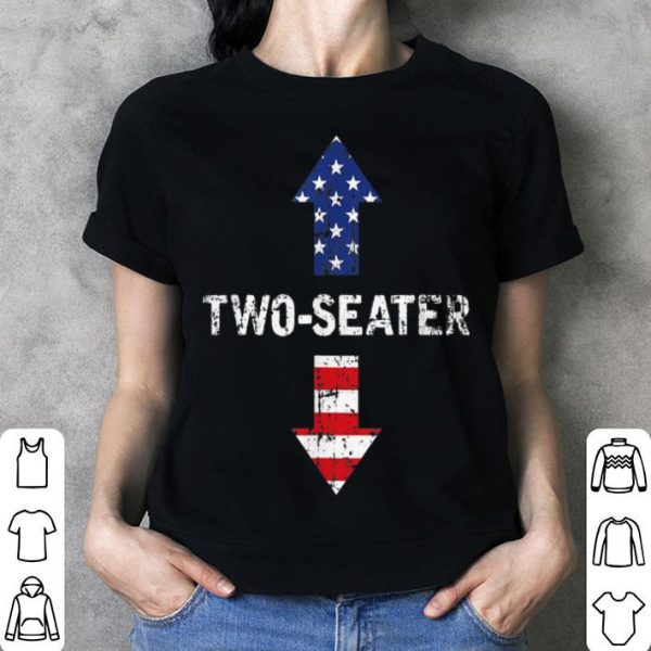 Two Seater Arrow 4th Of July American Flag Vintage shirt