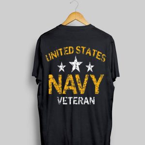 United States Navy Veteran Faded Grunge shirt