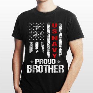 Us Navy Proud Brother Veteran shirt