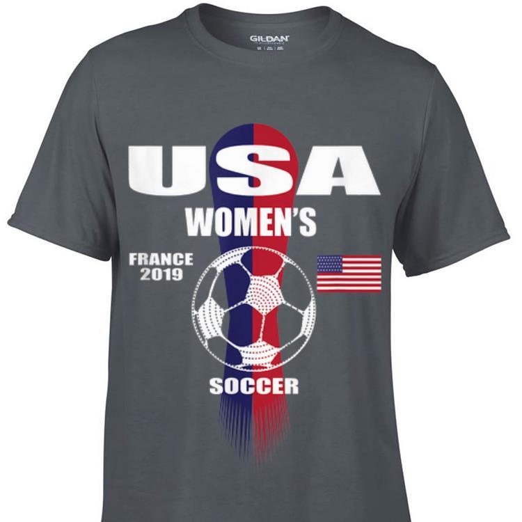Usa Women s France 2019 Soccer American Flag sweater 1 - Usa Women's France 2019 Soccer American Flag sweater
