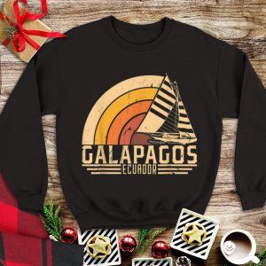 Vintage Galapagos Ecuador Sailing Vacation tank top